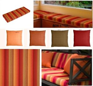 Custom Bench Window Seat Cushion Indoor Outdoor Sunbrella Astoria