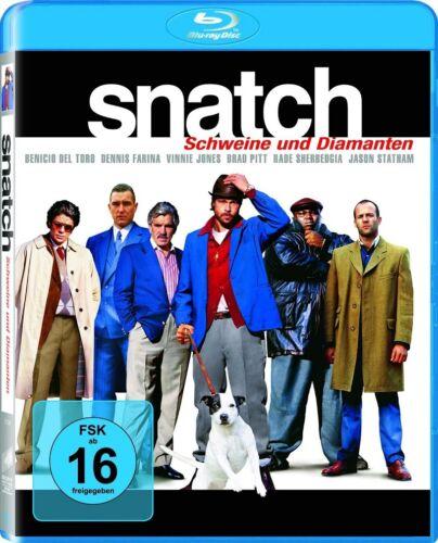 Blu-ray * Snatch - Schweine und Diamanten * Brad Pitt * NEU OVP