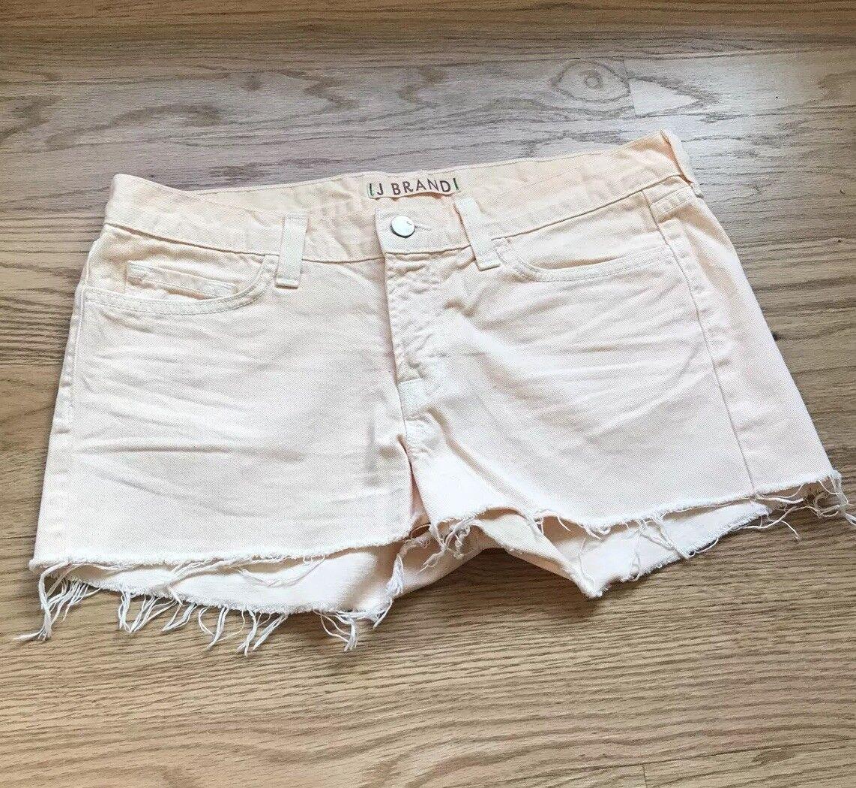 J Brand Sherbet orange Cut Off Denim Shorts Size 28