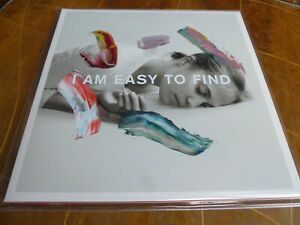 THE-NATIONAL-I-am-easy-to-find-2LP-ltd-clear-Vinyl-Gatefold-Sleeve
