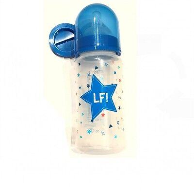 LIEF 262723 BABYFLASCHE BABY FLÄSCHCHEN TRINKFLASCHE BPA FREE BLAU