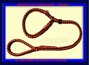 Agilityleine-Retrieverleine-in-4-Laengen-u-2-Breiten-sowie-45-Farben