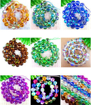 DIY GW Approx 72 PCs Natural Hematite Beads Heart Multicolor 1 Strand