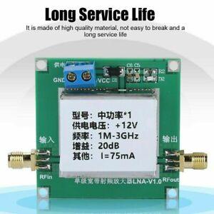 LNA-RF-Broadband-Amplifier-Module-Signal-Booster-1-3000MHz-2-4G-20dB-HF-VHF-UHF