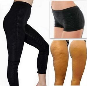 43926b675a2 Image is loading Anti-Cellulite-Pants-Shorts-Leggings -with-Tourmaline-Active-