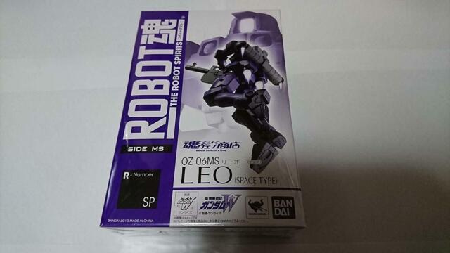 Leo Space 3241137 ROBOT Damashii SIDE MS New Mobile Report Gundam Wing