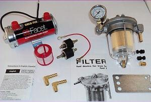Facet-RED-Top-Fuel-Pump-amp-Malpassi-Filter-King-Regulator-Kit-480532-to-240bhp