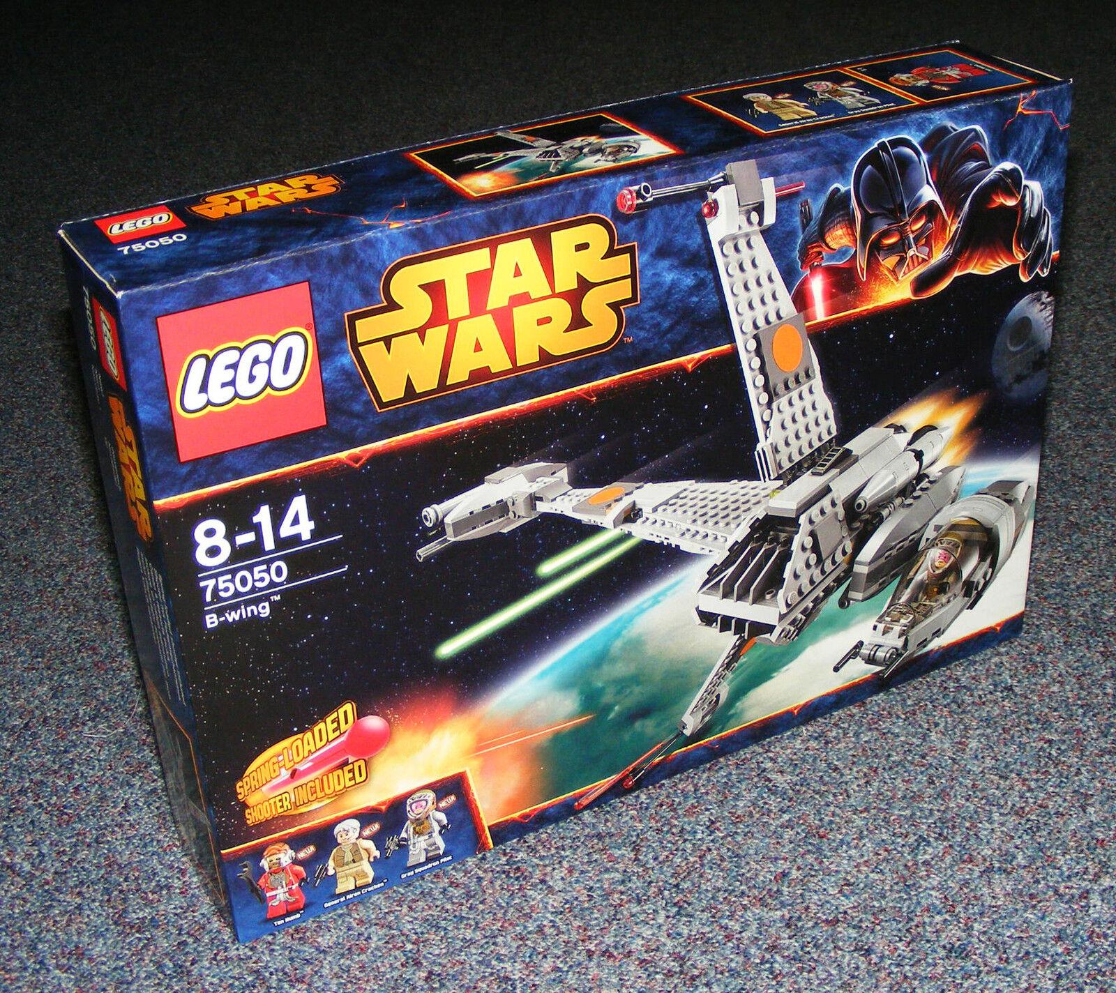 STAR WARS LEGO 75050 B-Wing SIGILLATO Nuovo di zecca con scatola Ala B