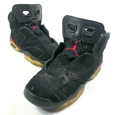 Nike Boys 6 Air Jordan Retro 6 GS Black