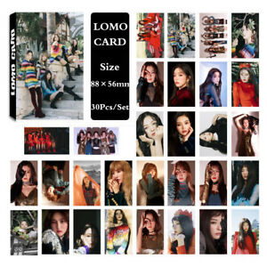 30pcs-set-Cute-KPOP-Red-Velvet-Photo-Card-Poster-Lomo-Cards