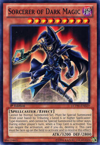 Sorcerer of Dark Magic - LCYW-EN029 - Common - 1st Edition x1 - Near Mint