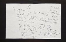 1992 REGGIE KRAY handwritten letter (ALS) from prison - The Krays - Reg