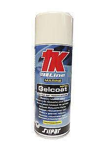 """GELCOAT SPRAY PER RITOCCO """" TK"""" 400 ml ACCESSORI NAUTICA"""