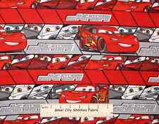 Power Breaking McQueen 95 Disney Movie Cars Built 4 Speed Red Cotton fabric