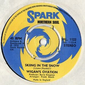 Wigan-039-s-Ovation-Skiing-In-The-Snow-7-034-Single-1975