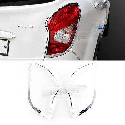 Taillight Lamp Chrome Garnish Molding Trim for SSANGYONG 2014-2015 Actyon