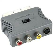 Bandridge Scart Audio Video Adapter (male to S-video female + 3xRCA female)