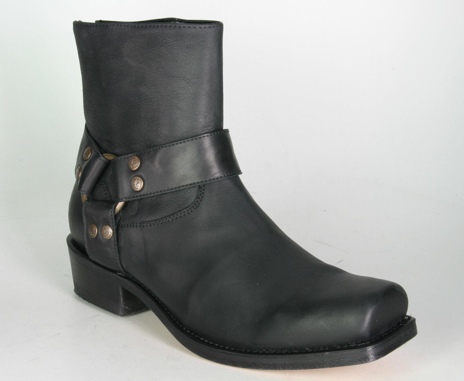 12266 sendra Ankle Stiefel Blaus Santos Dark