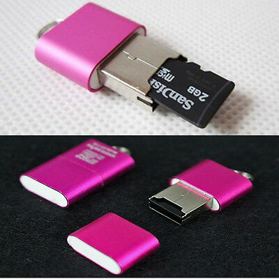 hot High Speed T-Flash Memory Card Reader Adapter Micro SD TF Mini USB 2.0 1PC