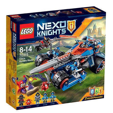 LEGO® 70315 70315 70315 NEXO KNIGHTS™ Clays Klingen-Cruiser Neu OVP fea1b6