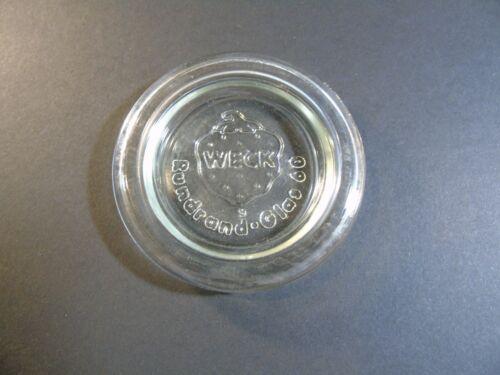 - RR 40 120 80 mm 60 100 Glasdeckel Weck Verre De Remplacement Couvercle