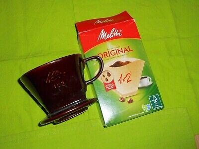 Größe Nr Porzellan Kaffeefilter NEU !! 2  Farbe Braun