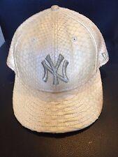 New York Yankees NEW ERA 59FIFTY LIMITED EDITION SNAKESKIN Python HAT SZ 7 1/4