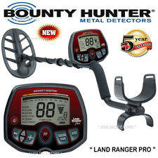 New Bounty Hunter Land Ranger Pro Metal Detector With Free Shipping