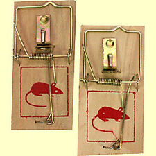 Holz Mausefalle Rattenfalle Mausefallen Mäuse Falle Ratten Nager Mäusefallen b31