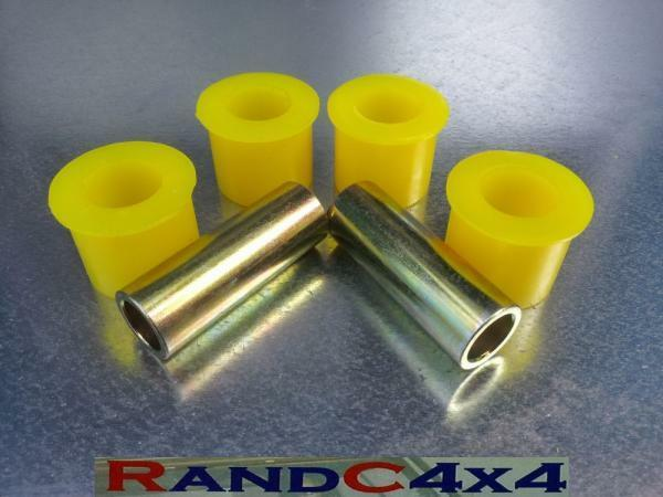 Land Rover Defender TD5 Caster Correction//Trailing Arm Bushes in Poly NTC6860