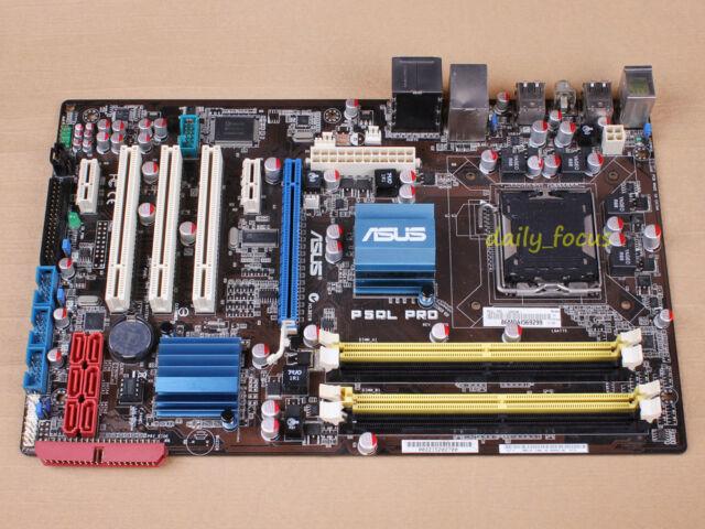 ASUS P5QL PRO Motherboard skt 775 DDR2 Intel P43