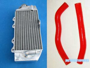 Red-Aluminum-Radiator-amp-Hose-2002-2015-For-Yamaha-YZ85-YZ-85-08-09-10-11-12-13-14