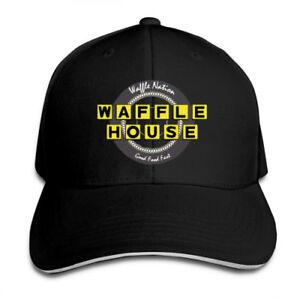 Waffle-House-Fast-Food-Adjustable-Cap-Snapback-Baseball-Hat