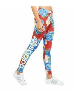 Adaptable Adidas Originals Farm All-over Imprimé Femmes Leggings Taille: 6-afficher Le Titre D'origine