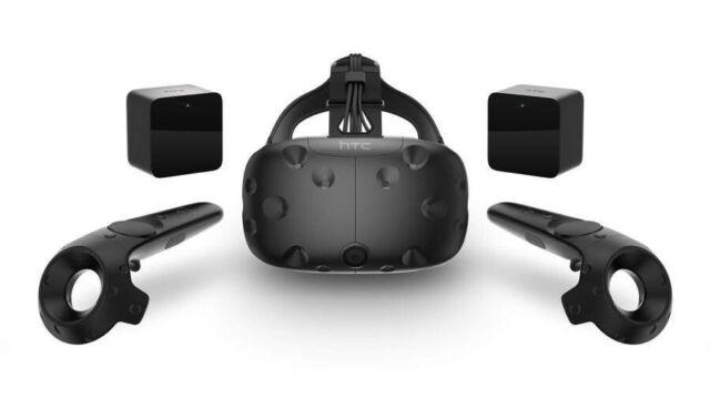 HTC VIVE Virtual Reality Headset 99HALN006-00, AUS plug, 2xSENSORS 2xControllers