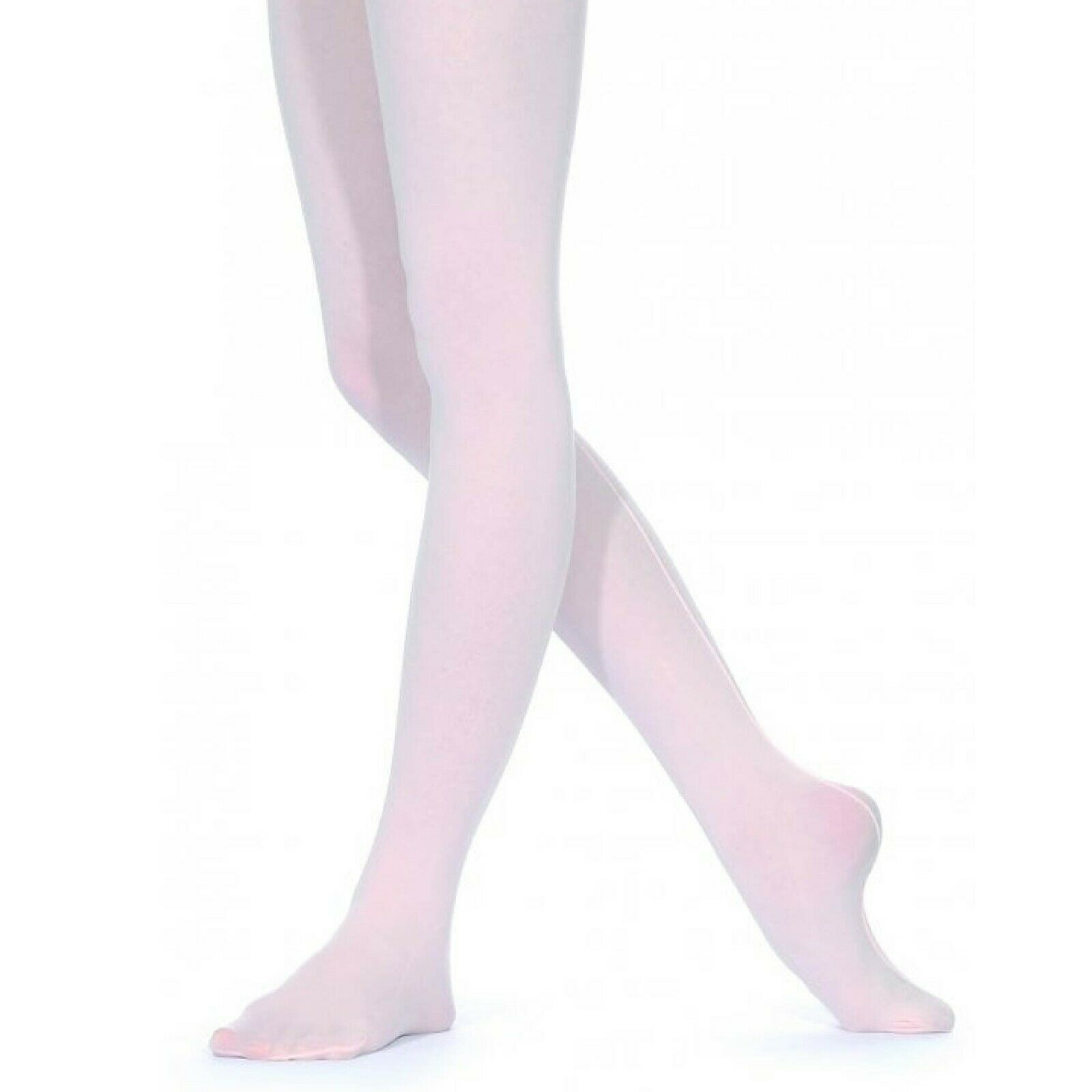 NEW ROCH VALLEY THEATRICAL PINK SILKY SEAMED DANCE TAP BALLET TIGHTS SILKBST