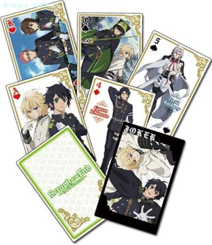 GE51620 Group Playing Cards GE Animation Seraph of the End