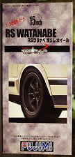 Felgen Watanabe RS 15 Zoll inkl. Reifen Cinturato P 7, 1:24, Fujimi 192994