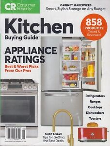Details about Consumer Reports Kitchen Buying Guide September 2018  Appliance Ratings