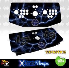 Mame V3 X Arcade Tankstick Overlay Graphic Sticker
