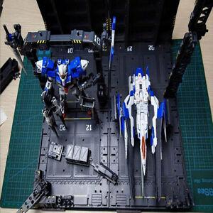 Mechanical-Chain-Machine-Nest-Action-Base-for-PG-Gundam-Model-Transformers-Grey
