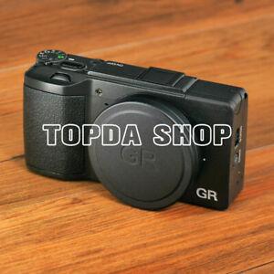 For Ricoh GR 3 metal lens cap GRII GRIII GR2 GR3 flocking protection