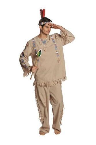 Disfraz indios-tamaño 48-58-sin cinta del pelo y accesorios