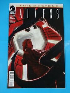 Aliens-Fire-and-stone-Dark-Horse-1-issue-Comic-book-1st-print-Nice