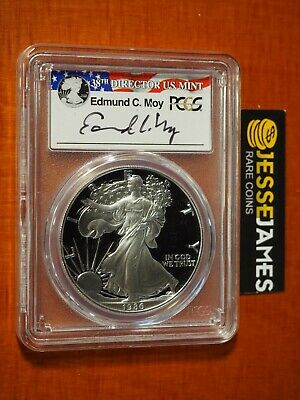 2011 W 25TH Anniversary Edmund C Moy Silver Eagle Coin Certified PCGS PR70DCAM