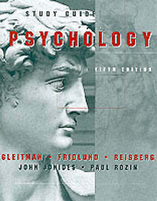 Psychology: Study Guide to 5r.e by John Jonides, etc., Henry Gleitman Paper Back