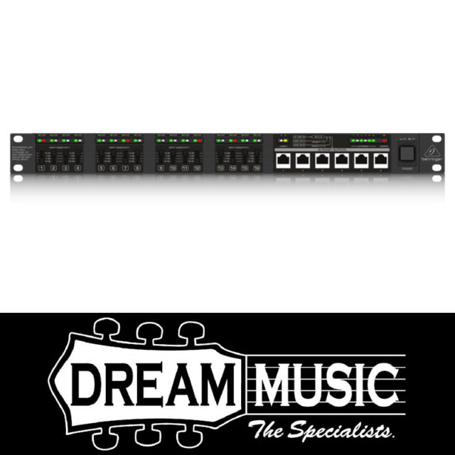 Behringer Powerplay 16 P16-I Input Module SAVE $74 off RRP$499