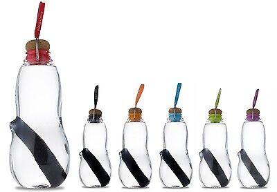 Black + Blum Eau Good Plastic Charcoal Filter Water Bottle Thermos, all Colours