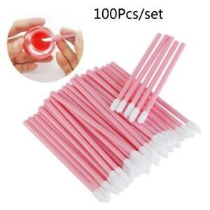 100pcs-bag-Pink-Disposable-Lip-Gloss-Applicators-Lipstick-Wands-Tool-Kits-Brush