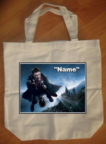 "NEW /""Harry Potter Broom/"" Personalized Tote Bag"